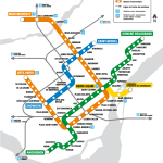 getting to the canadian grand prix by metro