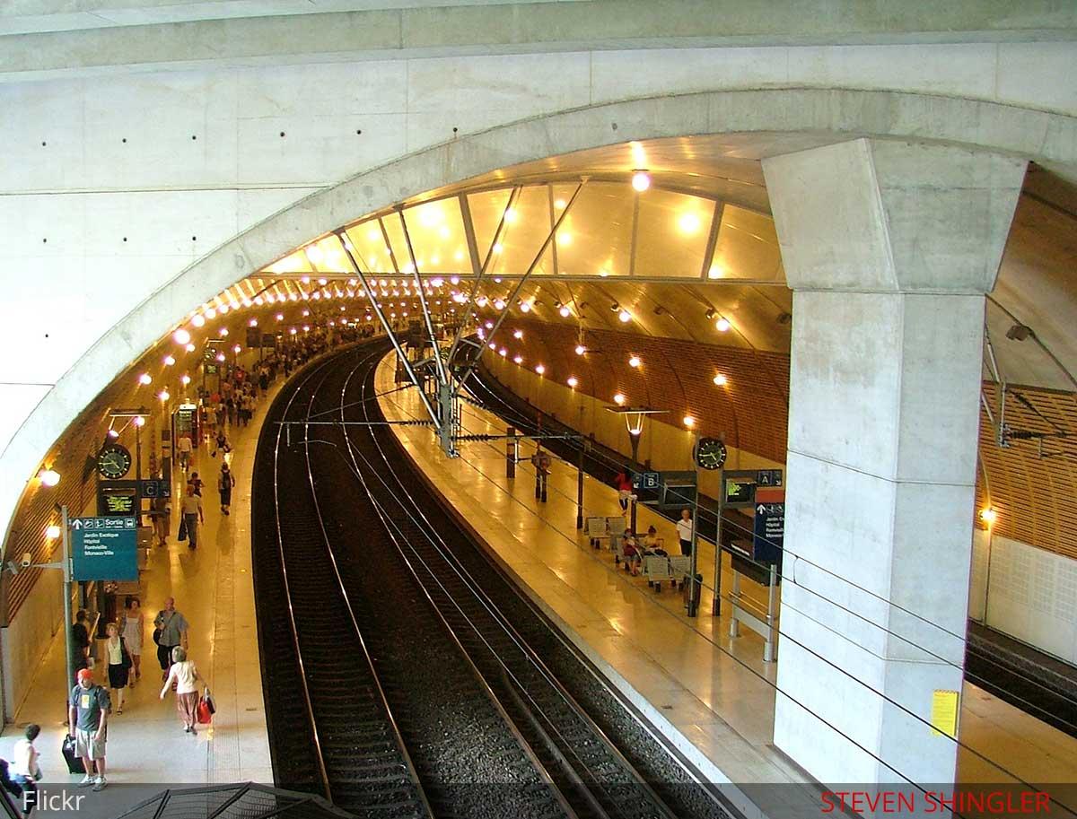monaco train station f1