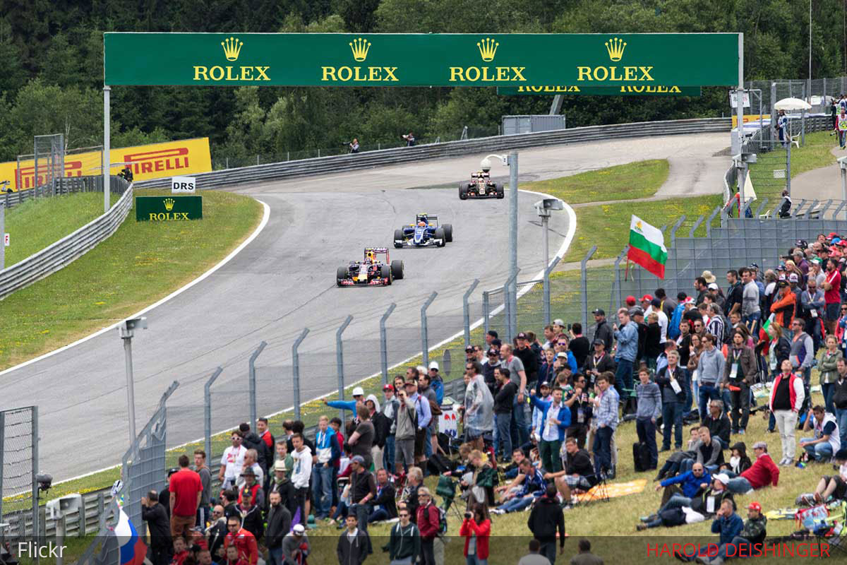 best grandstands red bull ring f1