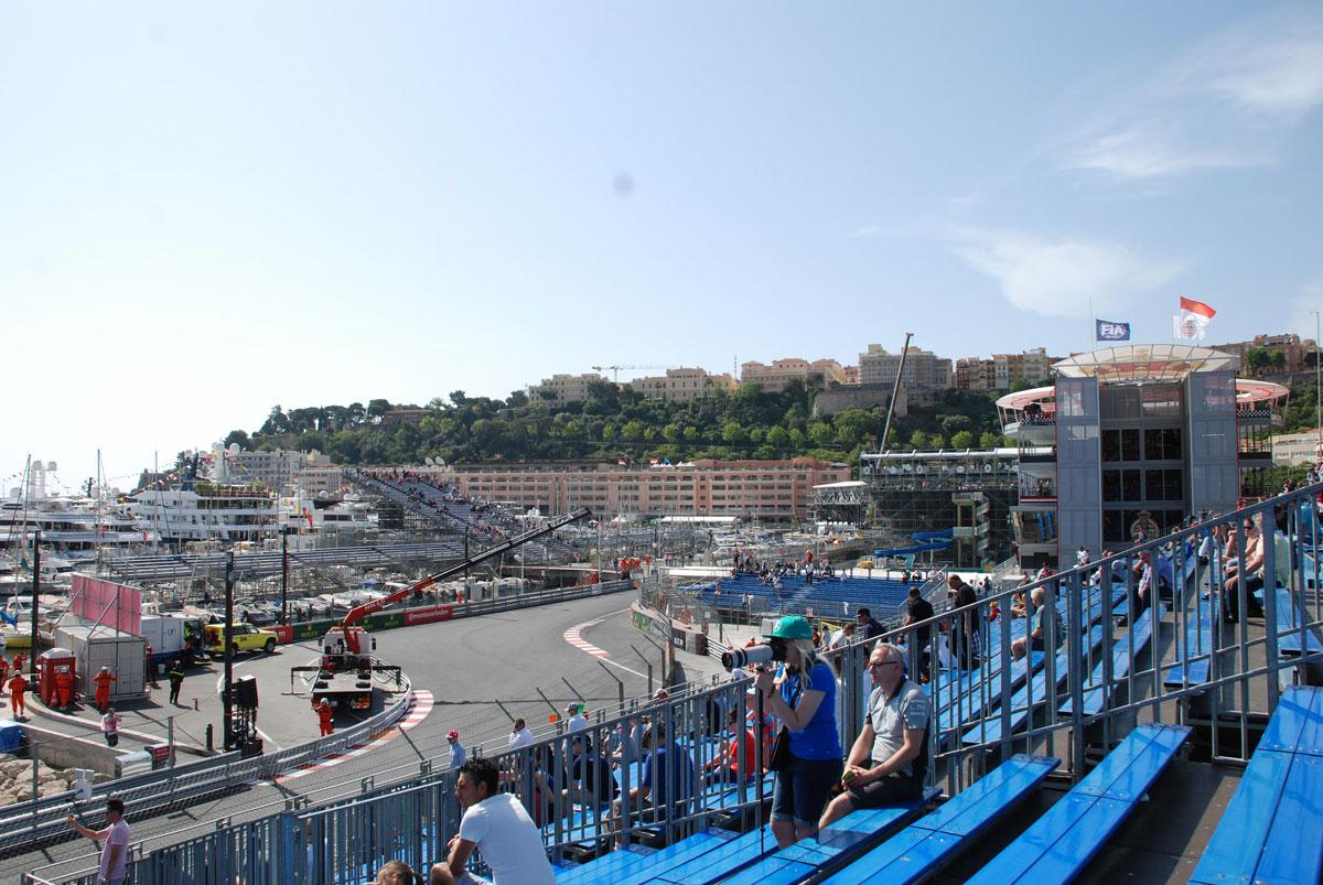 monaco grandstand k f1